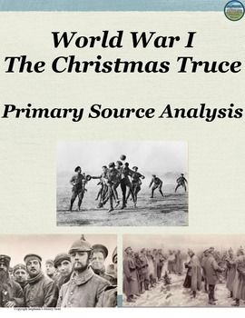 Students read a primary source on the Christmas Truce of World War 1 and answer 8 questions of varying difficulty (answers included) This would be great for a sub!