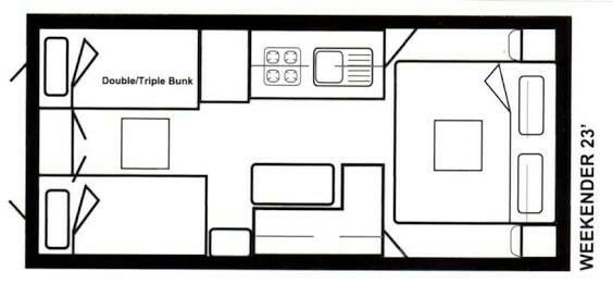 14 best 16 ft caravan layouts images on Pinterest
