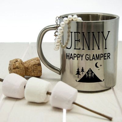 Check this out!! The Kitchen Gift Company have some great deals on Kitchen Gadgets & Gifts Personalised Camping Mug - Happy Glamper #kitchengiftco