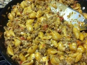 Taco Pasta - taste great! Kids loved it... Even my picky nephew. Didn't change anything.