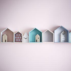 Décoration murale - Maison - Horloge - Casiers Idée déco: http://villeneuve.zodio.fr/tendance/index/deco/?p=1