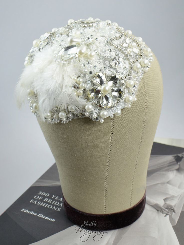 Vintage inspired bridal hair accessory