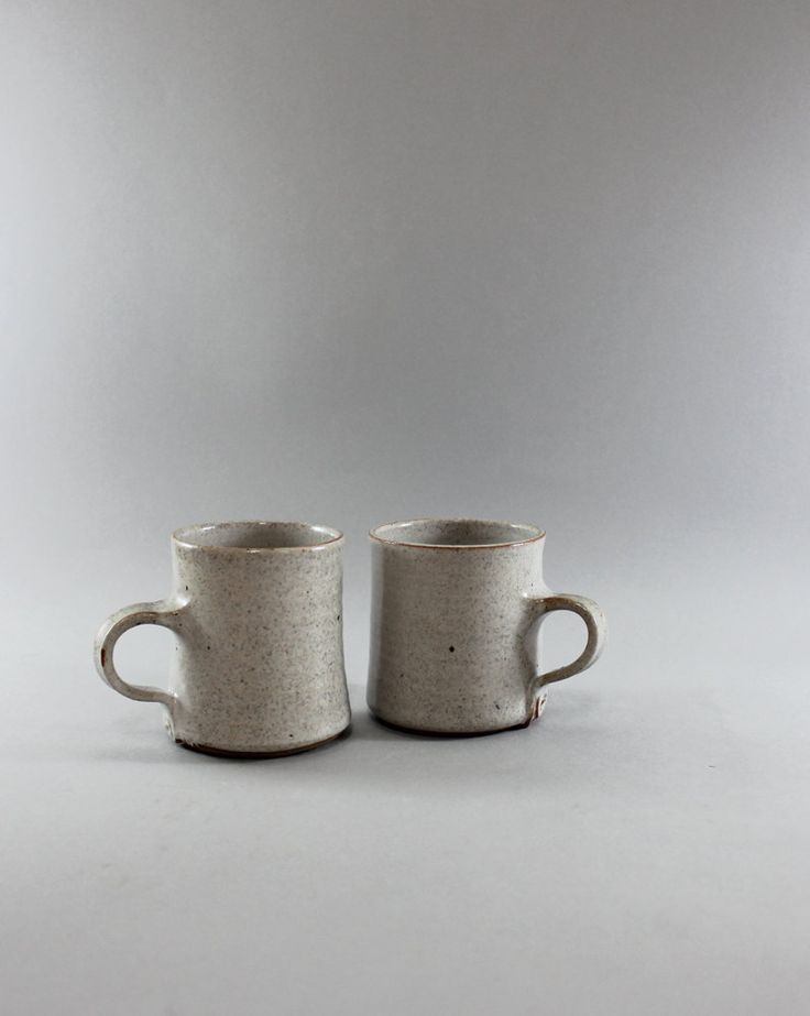 Hand Thrown Pottery Mugs, Ceramic pottery mugs , Hand Made Mugs Pottery, Stoneware Coffee Cups by ClayAndWoodStudio on Etsy