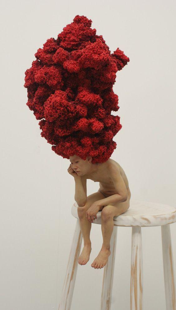 Choi Xooang sculpture via Beautiful/Decay. www.artency.com. Art & Contemporary Jewelry