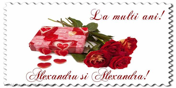 La multi ani! Alexandru si Alexandra