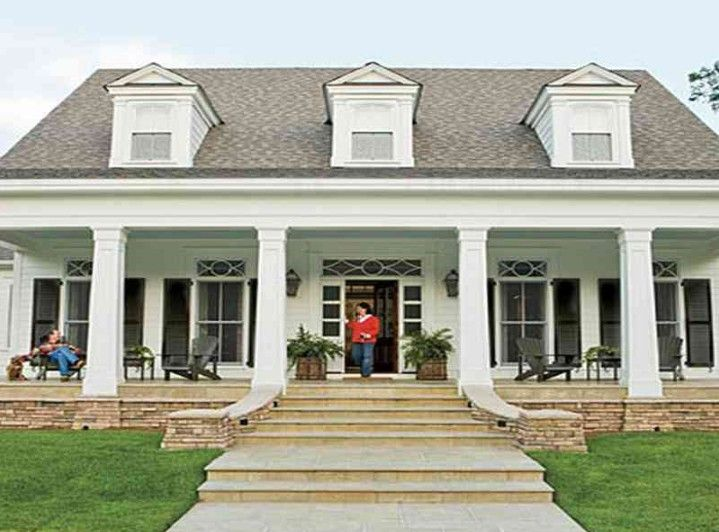 Pin By Marilia Souza On Home House Exterior Southern House Plans Porch Remodel