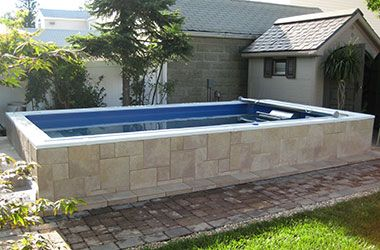 459 best endless pools images on pinterest for Club piscine above ground pools prices