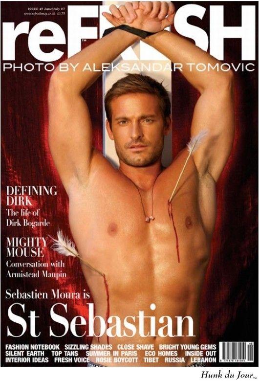 Sebastian is gay