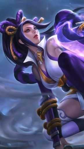 Hanabi Resplendent Iris Mobile Legends Wall Mobile Legends