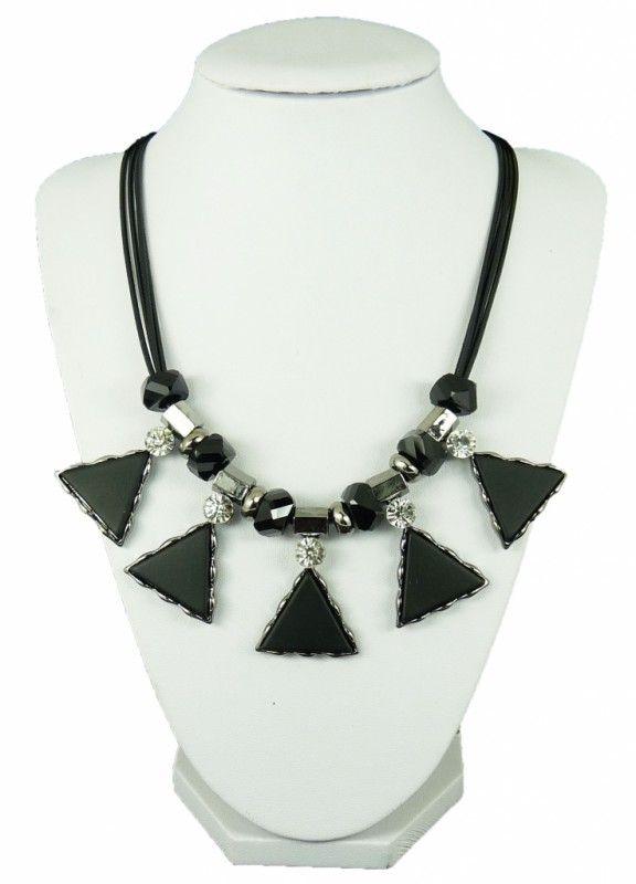 Náhrdelník trojúhelníky 10801-1 | Bižuterie Kozák