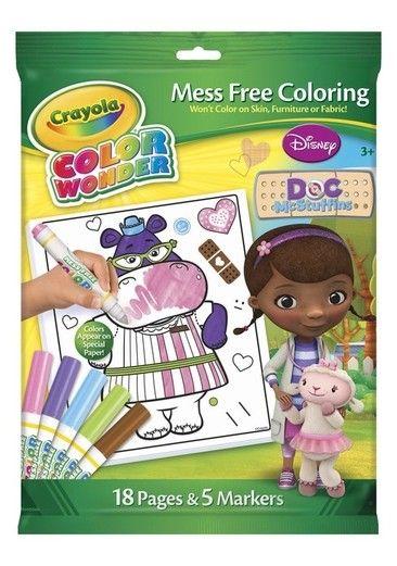Crayola Color Wonder Doc McStuffins