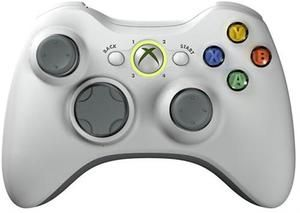 Official Xbox 360 Controller Wireless White - Xbox 360