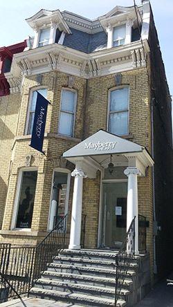 324 Dundas Street West, across from the Art Gallery of Ontario.  Mayberry Fine Art_Canadian Art Appraiser & Dealer in Toronto, Winnipeg | Mayberry Fine Art Gallery