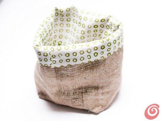 Idee fai da te :: Un sacchetto di stoffa multiuso