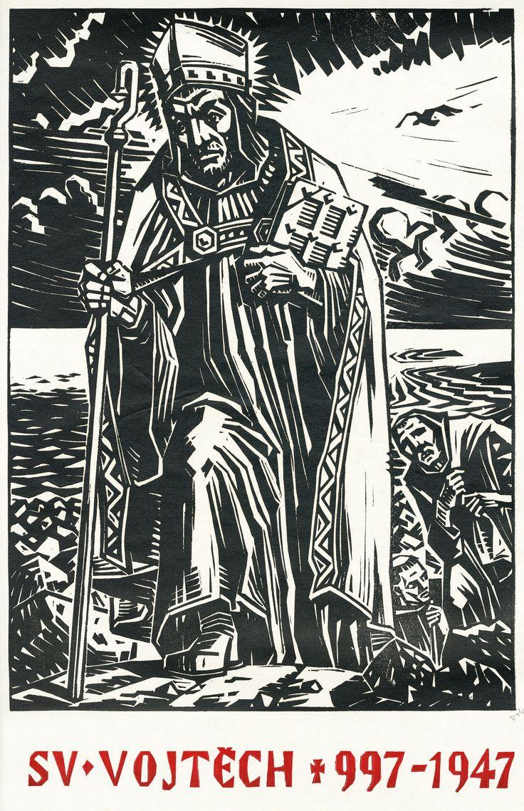 Vojmír Vokolek: Svatý Vojtěch (Saint Adalbert of Prague), 1947