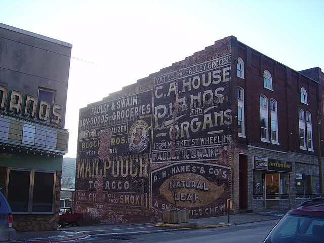 54 Best Vintage Signs Painted Brick Images On Pinterest