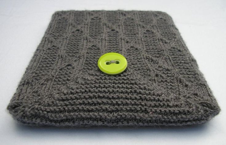 When the products on the shelves just won't do, turn to your knitting needles and whip up a tech case that's customized just for you. Check out these fun knitting patterns to find a case for everything — from phones, to iPods and even tablets!
