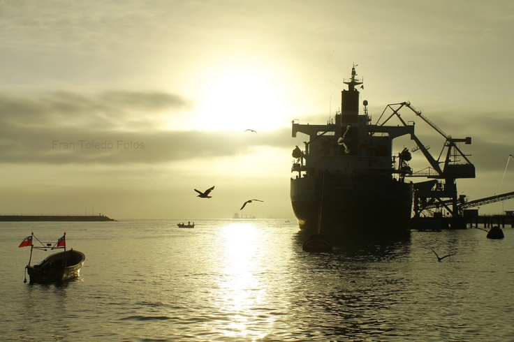 Puerto de San Antonio, Valparaiso, Chile - Fran Toledo Fotos