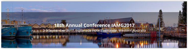 #geocongress IAMG2017 — 18th Annual Conference of International Association for Mathematical Geosciences. Perth, Australia. 02 Sep 2017 - 09 Sep 2017. The aim of the conference is to promote the advancement of mathematics, statistics and informatics in the geosciences. Areas of geoscience application include studies of the Earth, its natural resources and the environment...