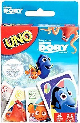 UNO Card Game Finding Dory Kids Toys Party Games Fun Playing Family Friend Fun