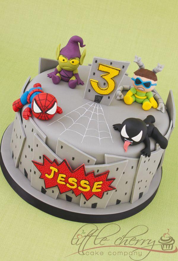 Baby Marvel Cake