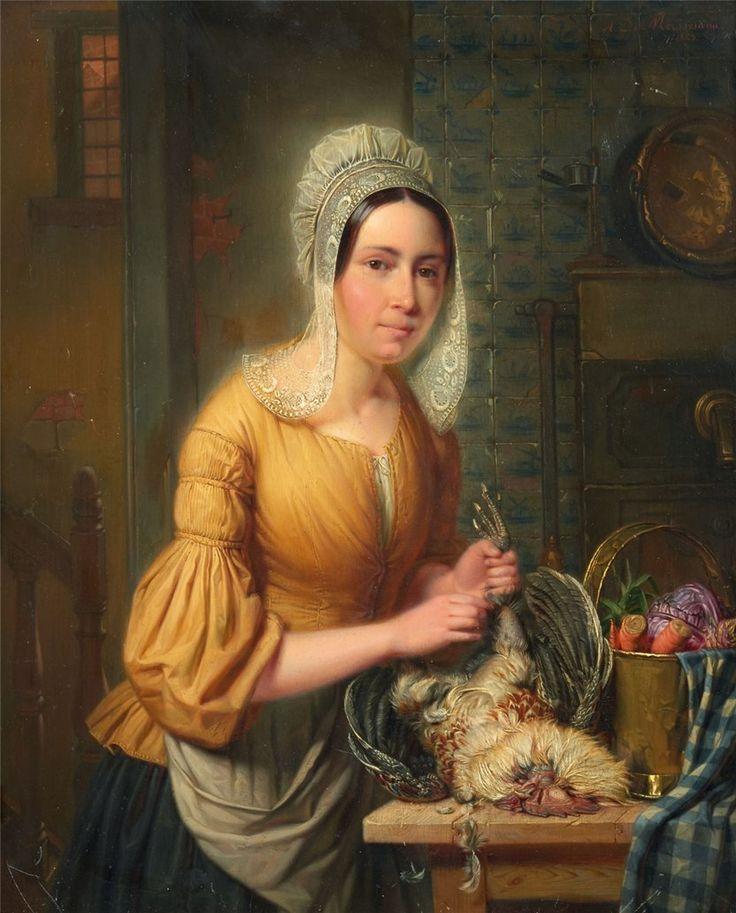 Auguste de Mersseman Die Küchenmagd: