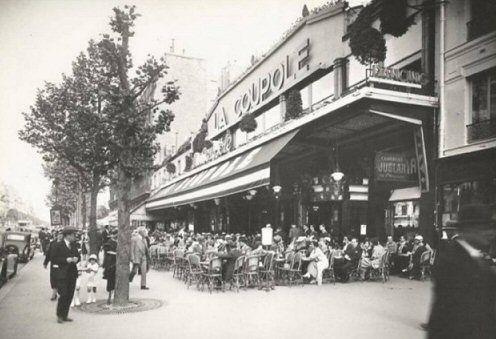 Restaurant La Coupole - Paris 14ème vers 1930