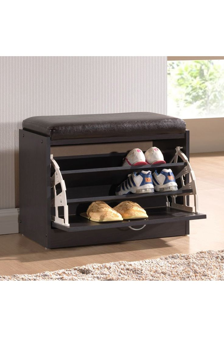Best 25+ Shoe rack with seat ideas on Pinterest | Entry storage ...
