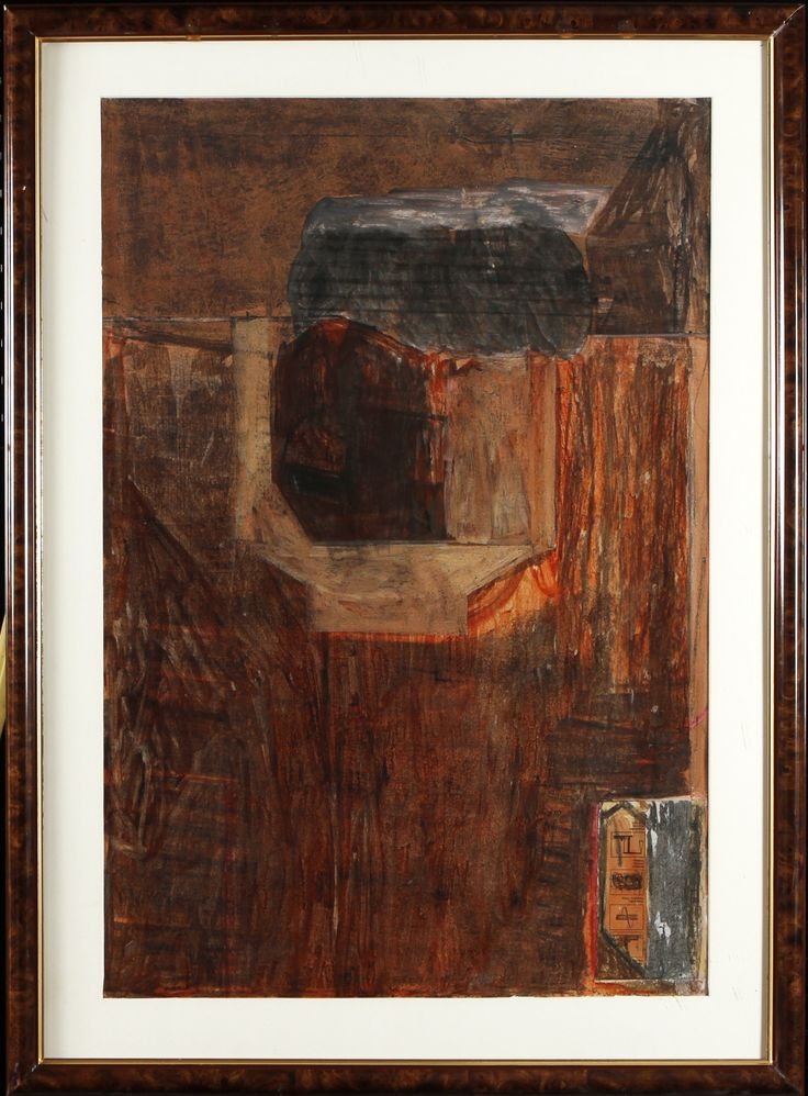 Jan-Kenneth Weckman, sekatekniikka, 91x61 cm - Hagelstam A123
