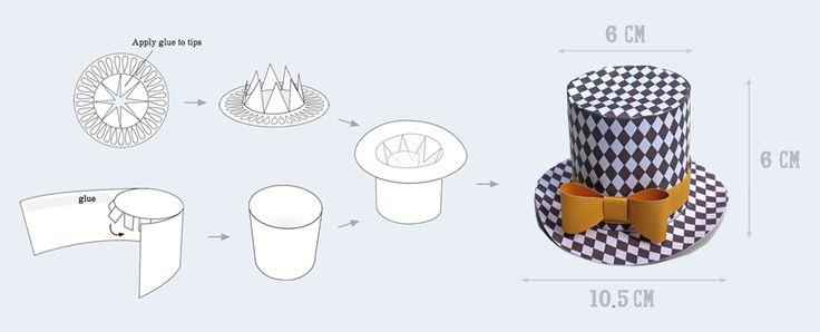 ideas no sew mini top hat instructions