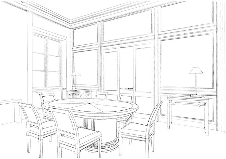 Mejores 631 im genes de interior design sketches en for Bocetos de disenos de interiores