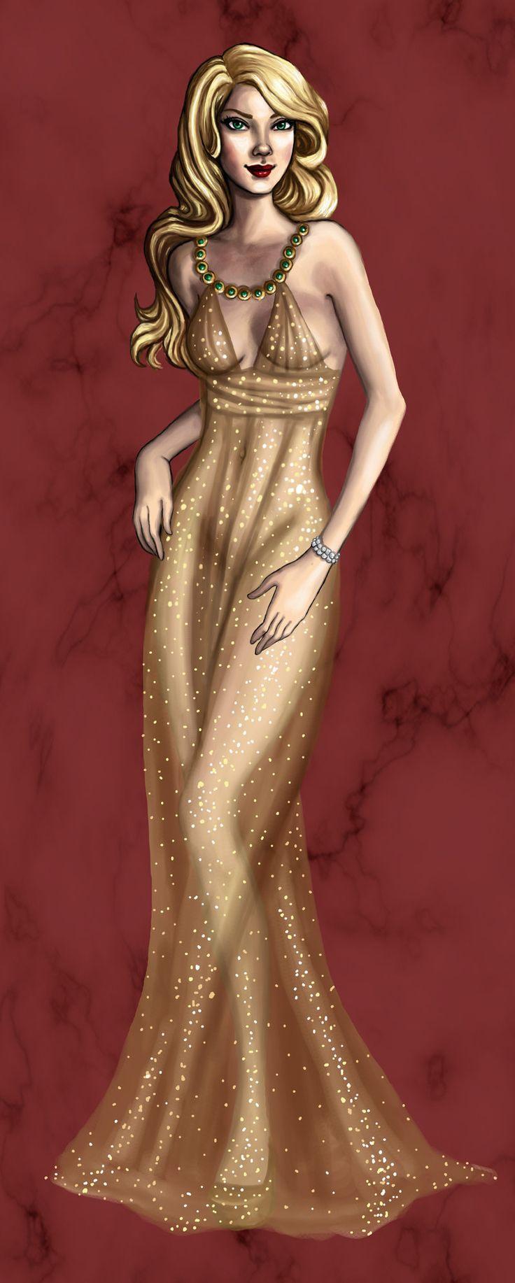 Glimmer: Interview Dress by kathrynlillie.deviantart.com on ...
