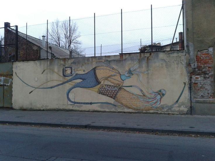 Feeling of freedom by Mikołaj Rejs #free #streetart #podgorze