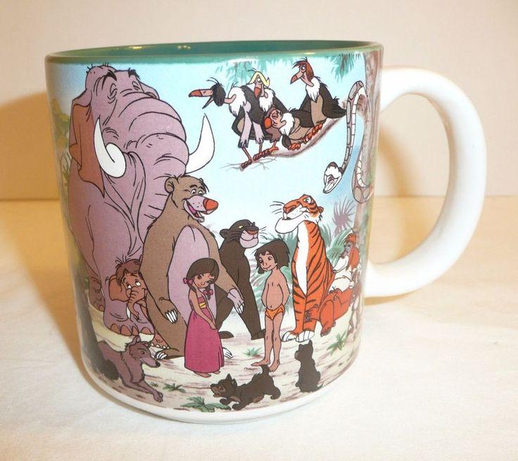 The Jungle Book Cartoon Movie Coffee Cup / Mug - Walt Disney Company - JAPAN #Disney