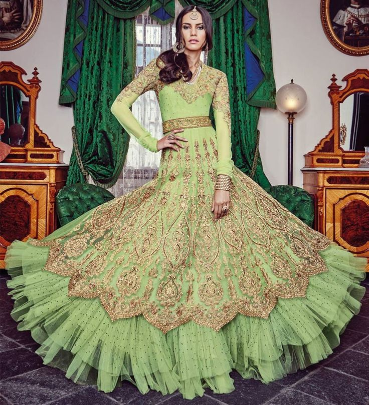 Amazing Honeydew Designer Anarkali Suit  https://www.ethanica.com/products/amazing-honeydew-designer-anarkali-suit