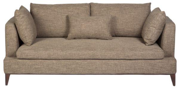 Размер (Ш*В*Г): 203*88*97 Широкий и глубокий, крайне эргономичный диван Apollo отвечает всем современным требованиям к мебели: элегантный дизайн, антистатичная ткань обивки и абсолютный комфорт, благодаря дополнительным мягким подушкам, позволят Вам и Вашим посетителям провести в нем весь вечер расслабленно и с удовольствием. Изящные хромированные ножки делают силуэт дивана легким и изящным. Просто выберите подходящий цвет обивочной ткани, и он займет достойное место в Вашем интерьере…
