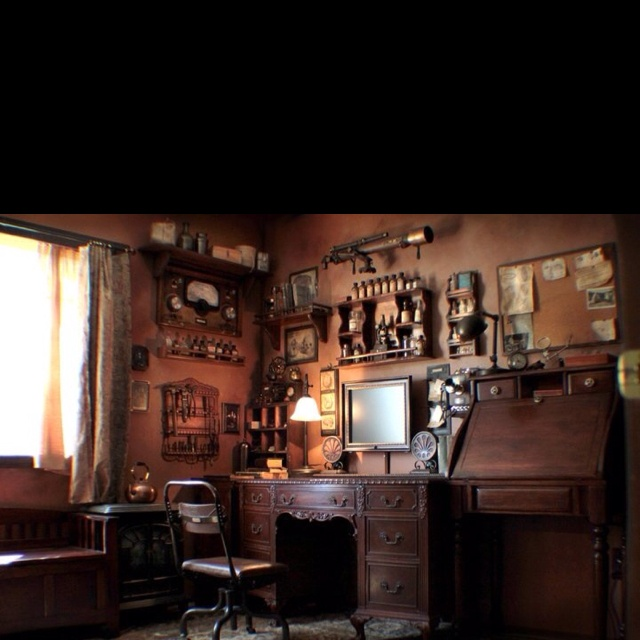 steampunk office. Steampunk Office S