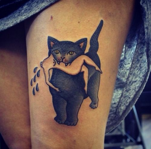 Cat Tattoos Every Cat Tattoo Design Placement And Style: Best 25+ Traditional Style Tattoo Ideas On Pinterest