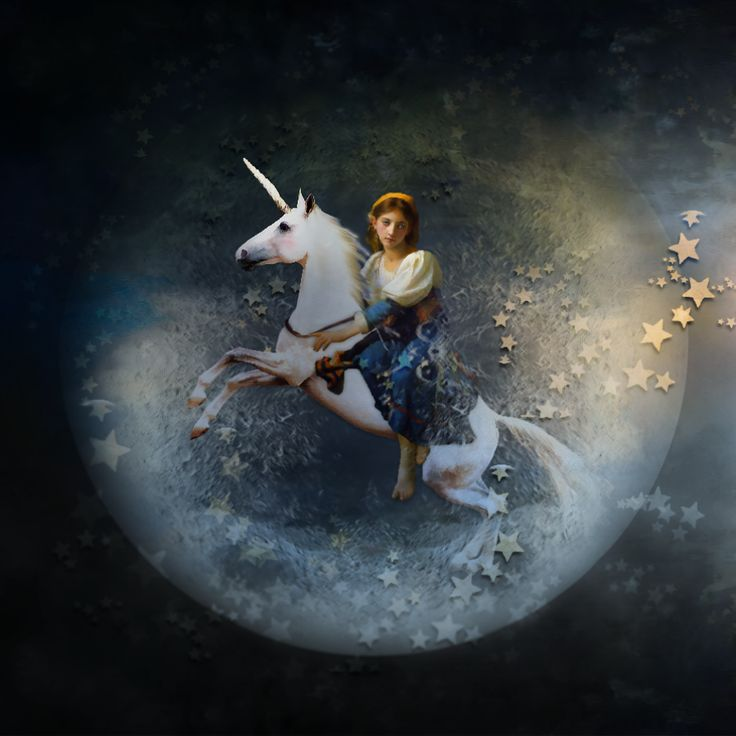 Unicorn fly to paradise.with Teddi Rutschman <3. With the beautyful album , Castellum https://shop.scrapbookgraphics.com/foxeysquirrel/ ©InadigitalArt2016.