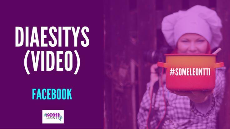 Opi hetkessä uusi tapa luoda sisältöä Facebookiin! Tee valokuvistasi video ja suunnittele, mihin haluat katsojan päätyvän videosi nähtyään.  Ohjevideolla  näytän, miten luot diaesityksen videoformaattiin sivusi aikajanalle. #Facebook #somefi #diaesitys #video #somemarkkinointi #markkinointi