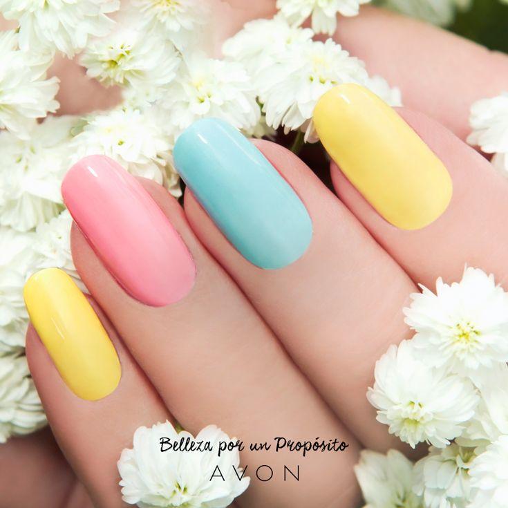 Estamos enamoradas de los colores pasteles. ¡Irresistibles!