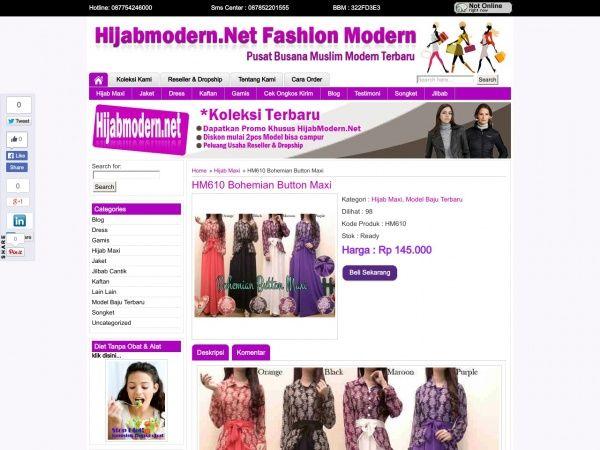 Busana Muslim Terbaru baju maxi Jersey  dengan blouse sifon