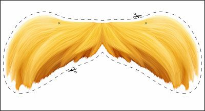 """Dr. Seuss' The Lorax"" – Movie Review & Moustache Printable"