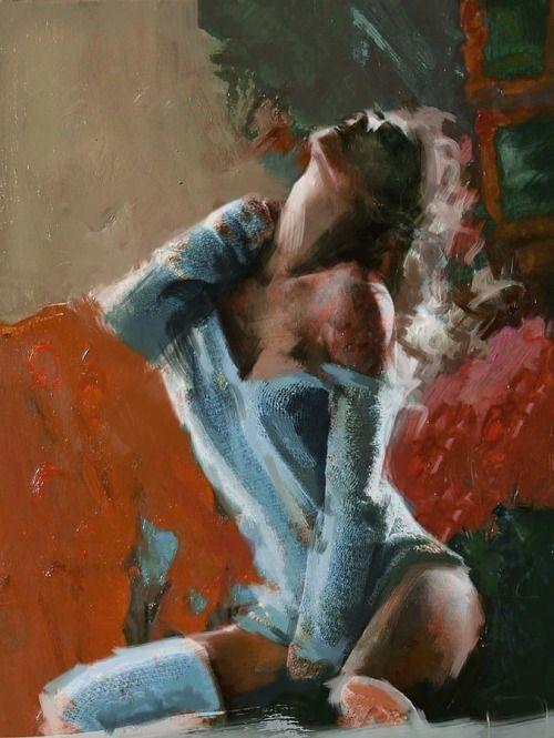 Mahnoor Shah, 1991 | Figurative Abstract painter | Tutt'Art@ | Pittura * Scultura * Poesia * Musica |