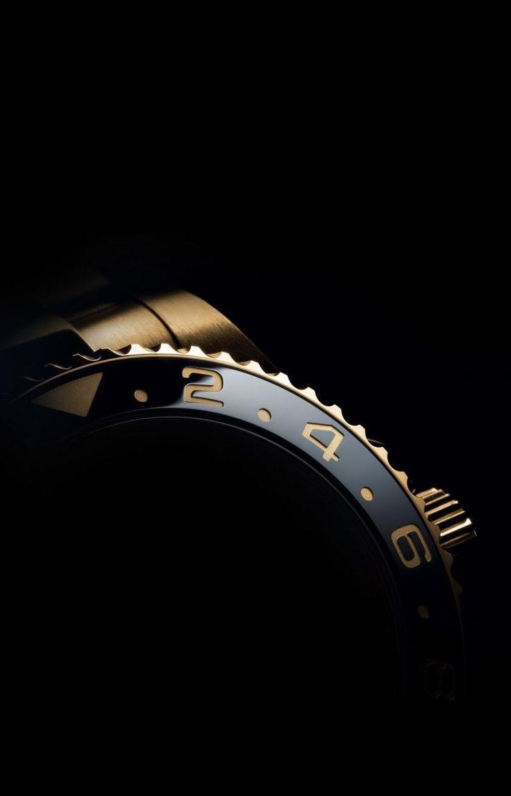 Rolex master gold