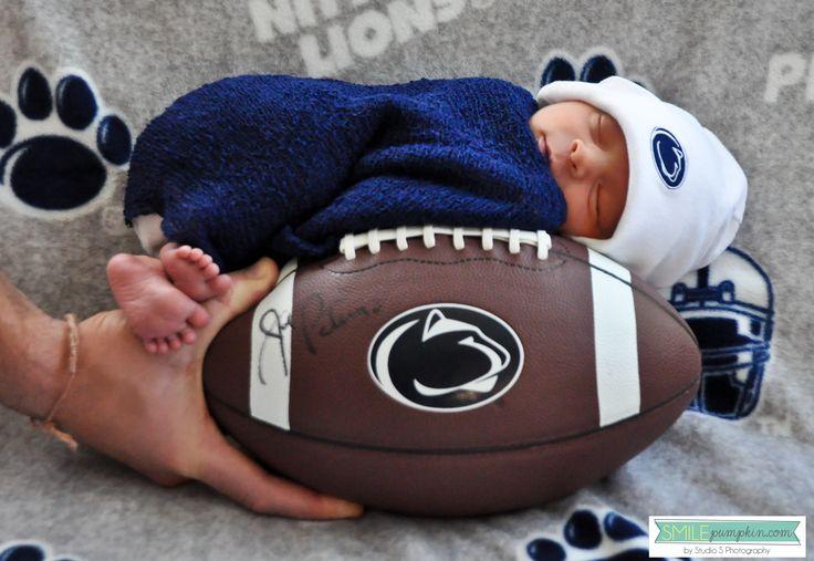 BEST Penn State baby portrait EVER!!! This is SOOOOOOOOO going to be my baby girl/boy someday.