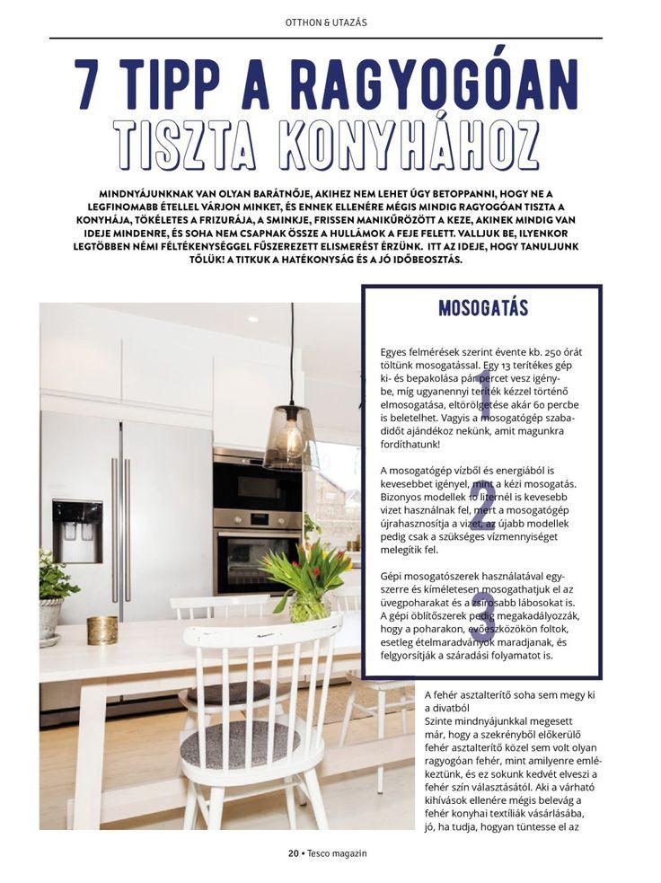 7 tipp a ragyogóan tiszta konyhához  #konyha #takarítás #tiszta #ragyogó #egészséges #tescomagyarorszag