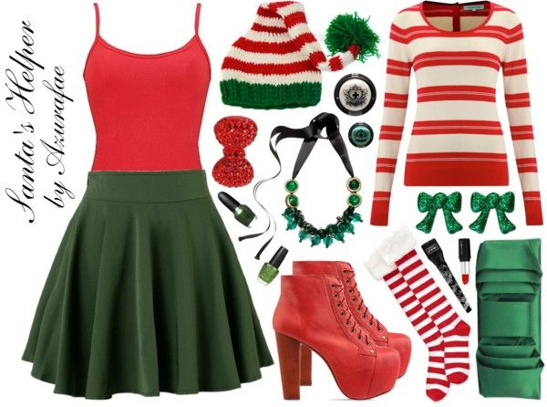 Crafty Lady Abby - HOLIDAY FASHION: Santa's Helper