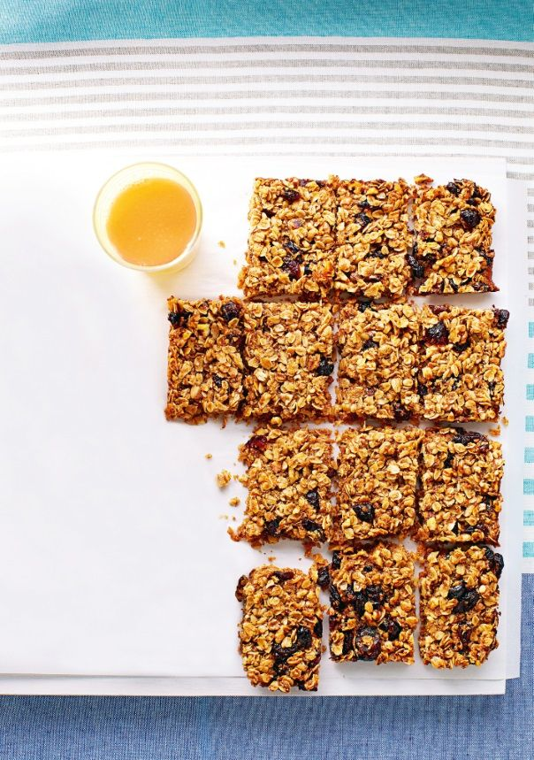 Grab and Go Cranberry Granola Bars #Healthy #OnTheGo #GoodFood