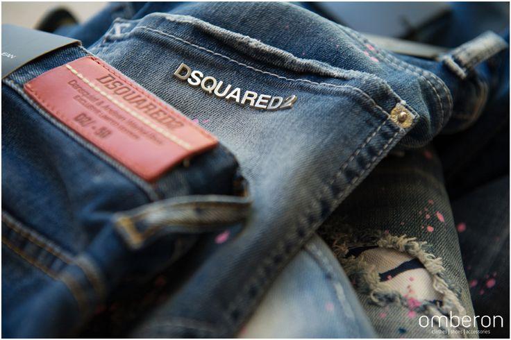 #Dsquared2 #jeans. Available #instore #Omberon. Photo © Vicky Lafazani